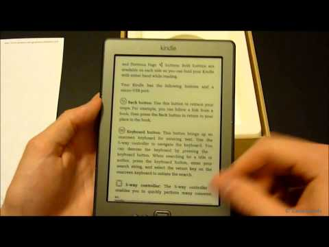 kindle - This is an unboxing / video review of the all-new 6