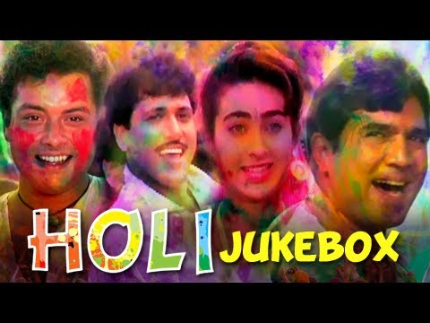 Best Bollywood Holi Songs – Festival Of Colors Special – Superhit Hindi Songs