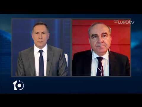 Ο Υφυπουργός Ανάπτυξης και Επενδύσεων, Νίκος Παπαθανάσης, στο «10» | 28/04/2020 | ΕΡΤ