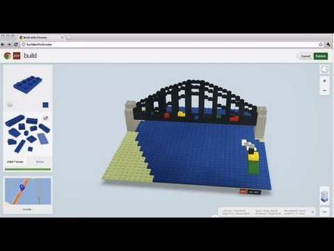 LEGO   Building Virtually in Google Chrome