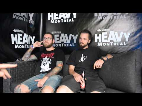 Interview with David Davidson and Ash Pearson of Revocation - Heavy Montréal, 2015