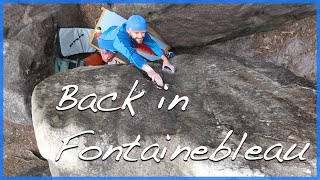 Fontainebleau Bouldering by The Climbing Nomads