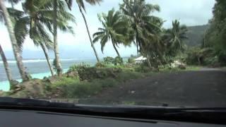 Lalomanu Samoa  city photo : Drive Thru Lalomanu Aleipata region of Samoa