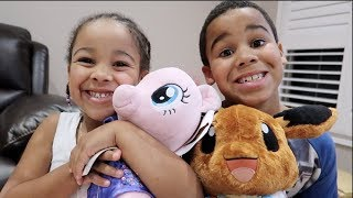 FamousTubeKIDS go to BUILD-A-BEAR Workshop