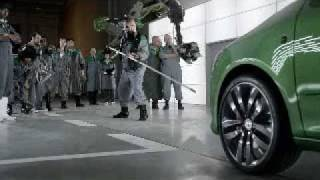 Skoda Fabia vRS Mean Green TV commercial