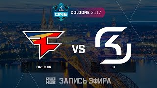 FaZe Clan vs SK - ESL One Cologne 2017 - map1 - de_overpass [ceh9, yXo]