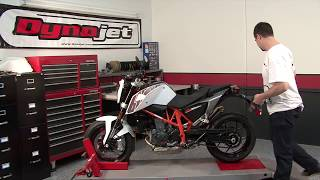 Power Commander 5 Install: 2014 KTM 690 Duke
