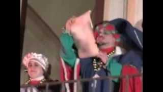Festa del fuoco 2014 - Re Candallinu e sua Maestà Mendula Riccia -