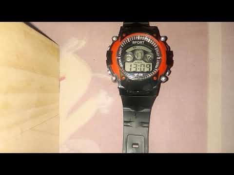 How to set date ,time,day,month, alarm, stopwatch and colourshade in digital watches