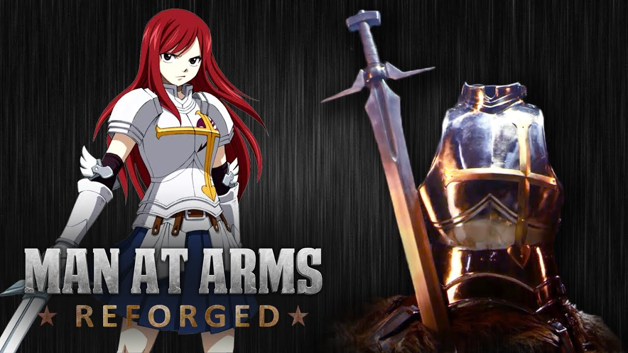 creating Erza Scarlet's sword and armor