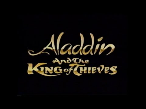 ALADDIN AND THE KING OF THIEVES MOVIE TRAILER [VHS] 1996