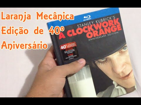 A CLOCKWORK ORANGE 40th ANNIVERSARY EDITION - BLURAY
