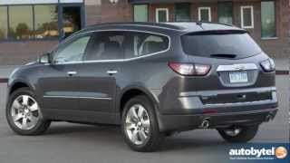 2013 Chevrolet Traverse Test Drive&Crossover SUV Video Review