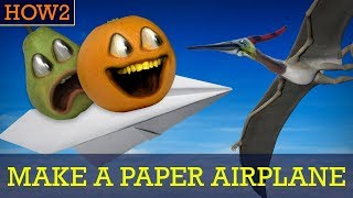 HOW2: How to Make a Paper Airplane