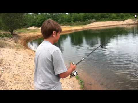 Small pond fishing for Bass fishing in ponds