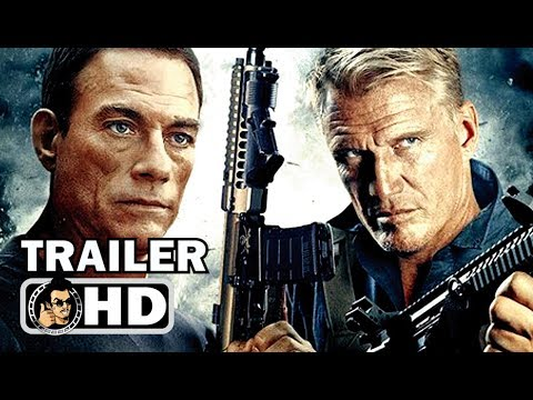 BLACK WATER Official Trailer (2018) Jean-Claude Van Damme, Dolph Lundgren Action Movie HD