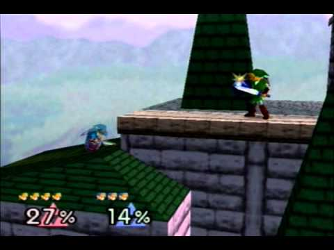 Smash 64|JQ(Link) Vs Dark(Blue Link)
