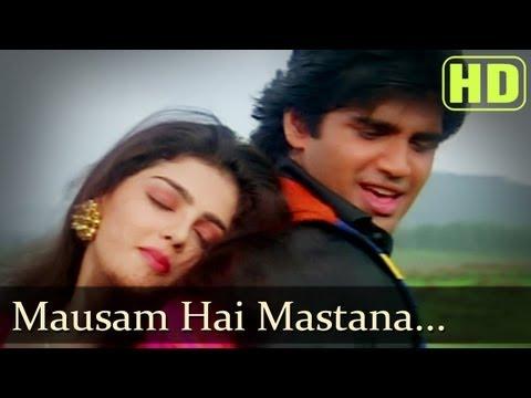 Video Mausam Hai Mastana - Sunil Shetty - Mamta Kulkarni - Waqt Hamara Hai - Bollywood Songs - Alka download in MP3, 3GP, MP4, WEBM, AVI, FLV January 2017
