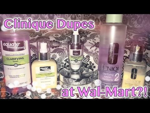 Clinique Dupes at Walmart?! | MsNikkiGBeauty