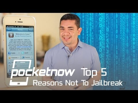 jailbreaking - To Jailbreak or not to Jailbreak? That is the question. In our previous episode of Top 5 we discussed the reasons why we believe you should Jailbreak, but st...