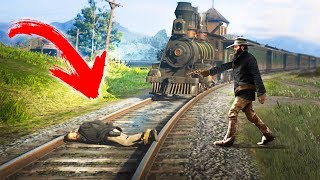 ATTEMPTING TO BREAK ALL THE LAWS in Red Dead Redemption 2