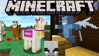 Minecraft 1.11 Exploration Update: Llamas Spit, Evil Villagers, Vex, Woodland Mansion, Shulker Box
