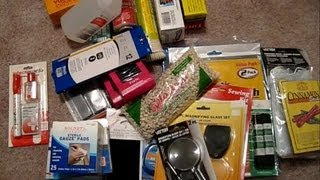 Dollar Store Survival Gear Shopping for SHTF bug out bag