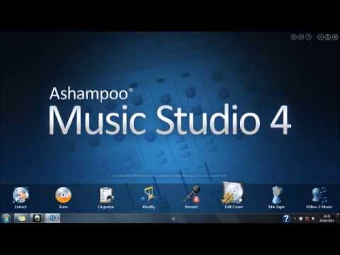 How to download Ashampoo Music Studio 4 free (full version)