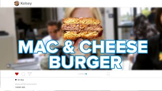 Famous Instagram Mac & Cheese Burger Tasty Edition by Tasty
