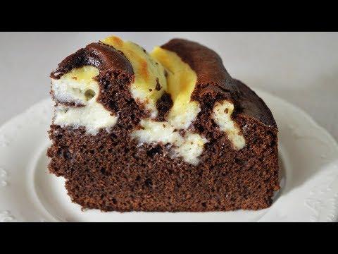 Шоколадный пирог с кремом - такого вы еще не пробовали - DomaVideo.Ru