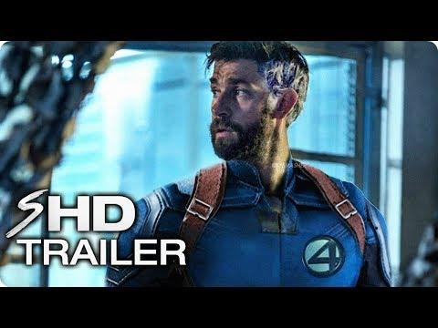Marvel's FANTASTIC FOUR - Teaser Trailer #1 MCU John Krasinski, Emily Blunt HD Concept