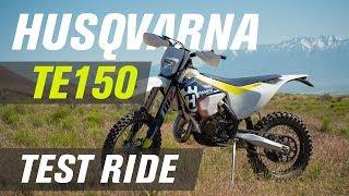 3. 2017 Husqvarna TE 150 Test Ride