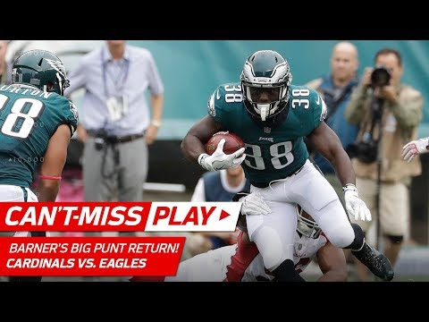 Video: Barner's Massive Punt Return Sets Up Wentz's 2nd TD Toss! | Can't-Miss Play | NFL Wk 5 Highlights