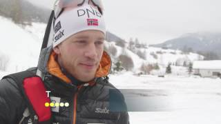 Good snow conditions and the return to competition for Tarjei Boe.