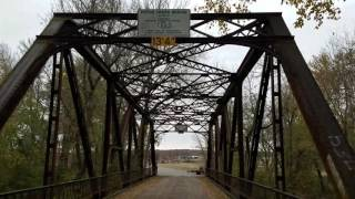 Pryor (OK) United States  City pictures : Explore Route 66 at Chelsea Oklahoma - Pryor Creek Bridge and pedestrian tunnel