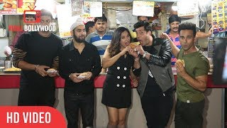 Fukrey Returns Team At Gayatri Snacks | Pulkit Samrat, Varun, Ali Fazal, Richa Chadda, Manjot