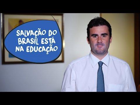 Caio Narcio: agenda da educação pode salvar o Brasil