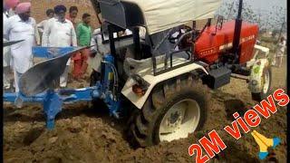 Swaraj 855 Mahindra Arjun 605 Di John Deere 5310vs Massey Ferguson 9500  4 in 1 Open Challenge
