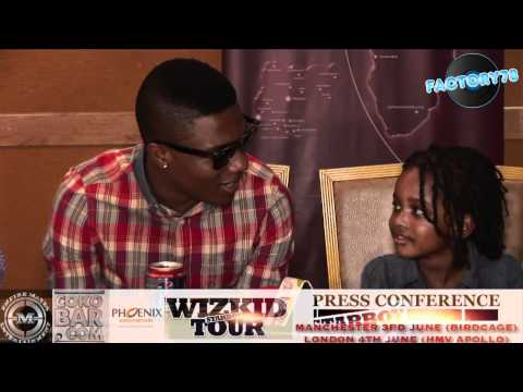 0 VIDEO: FACTORY78   Wizkids UK Press Conference 2012Wizkid Factory 78tv
