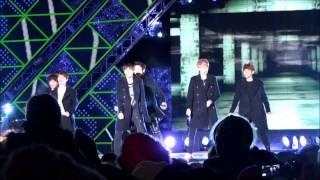 [FANCAM][HD]20121231 MBC 가요대제전 EXO-K History, Talk