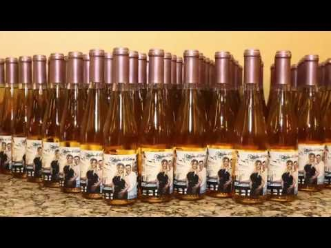 Wine Wedding Favors | Make Fine Wine Wedding Favors At Your Own Winery In Riverdale Nj
