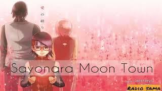 Boruto: Naruto Next Generation ENDING 2 -Scenario Art-Sayonara Moon town (Nightcore)
