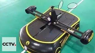 Video China robot challenges human players in badminton MP3, 3GP, MP4, WEBM, AVI, FLV Februari 2018