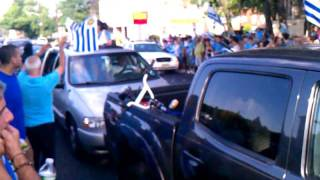 Elizabeth (NJ) United States  city photo : FESTEJOS Uruguay campeon de America. Elizabeth NJ # 2