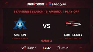 Archon vs coL, game 2
