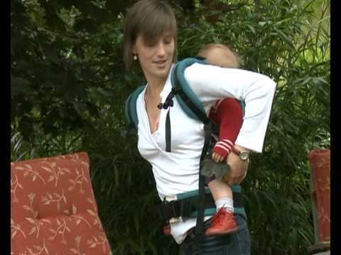 How to Use the Manduca Baby Carrier in Back Carry Position