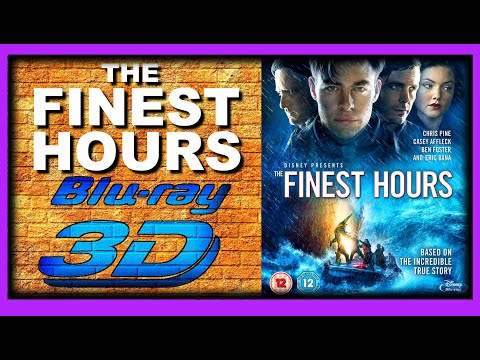 The Finest Hours (2016 Movie) 3D Blu-ray Review