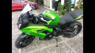6. 2013 Kawasaki Ninja 650 Walk around