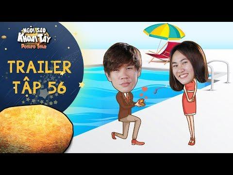 Ngôi sao khoai tây | trailer tập 56: Mina xúc động vì món quà sinh nhật cực hoành tráng của Nicholai - Thời lượng: 58 giây.