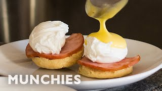 Making Eggs Benedict With Almost No Equipment by Munchies